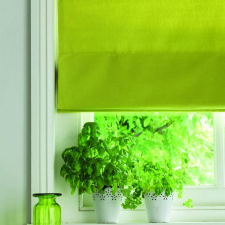 Milano Lime roman Wellingborough blinds