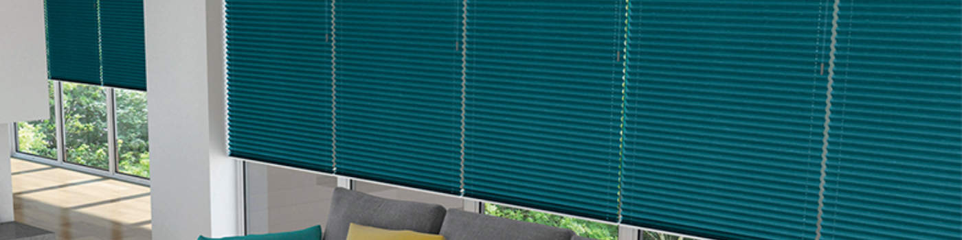 Wellingborough blinds Pleated