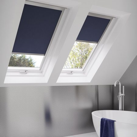 Skye Bella Indigo roof Wellingborough blinds